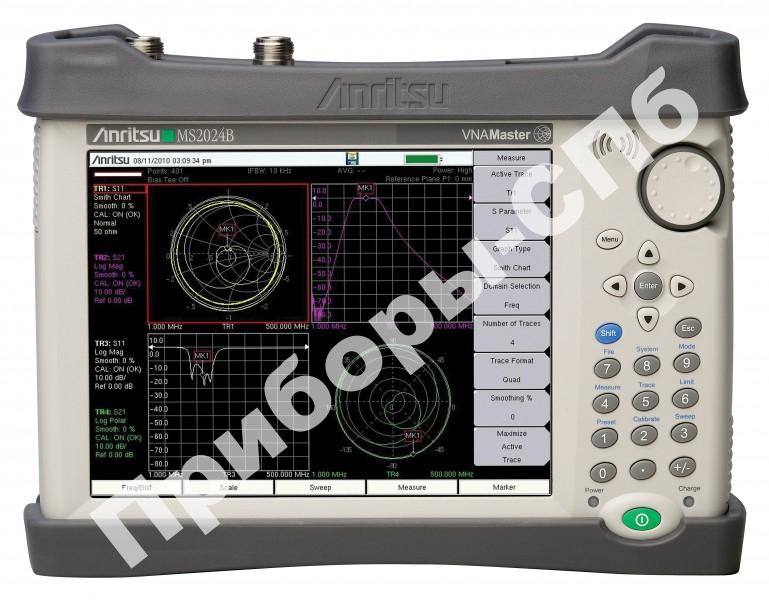 MS2024B - анализаторы цепей Anritsu