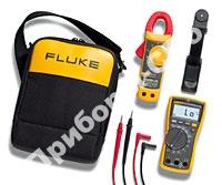 Fluke 117/322 - комбинированный комплект электрика (Fluke 117 + Fluke 322 + принадлежности)