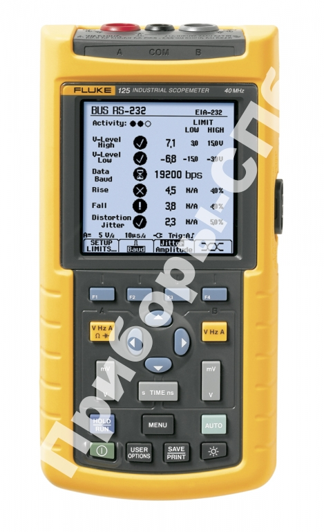 Fluke 125 - осциллограф-мультиметр 40 МГц