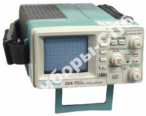 224 - цифровой осциллограф портативный 60 МГц / 2 канала