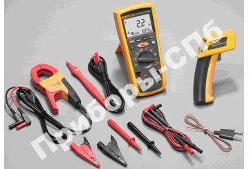 Fluke 1587ET - комплект мультиметра-мегометра + токовые клещи + инфракрасный термометр
