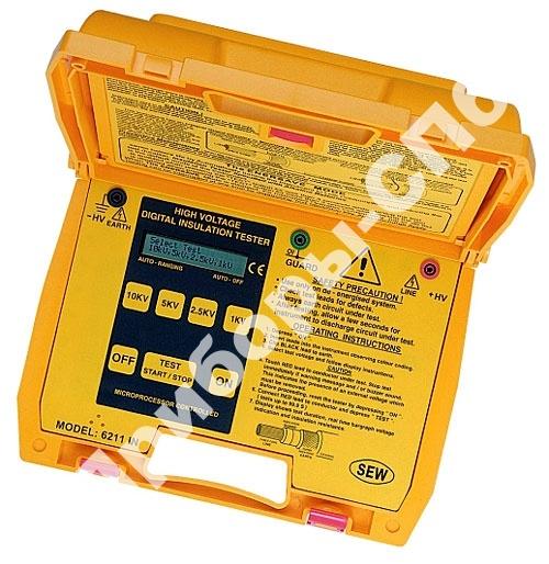 6210 IN - цифровой измеритель сопротивления изоляции