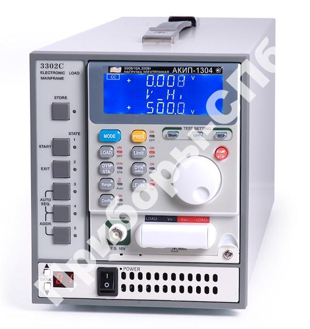 3302C - нагрузка электронная программируемая модульная
