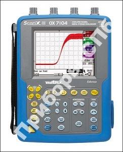 OX7104BP-CK - осциллограф индустриальный портативный
