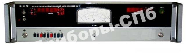 С6-11 - измеритель нелинейных искажений