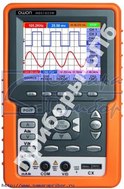 HDS-1022M - осциллограф-мультиметр