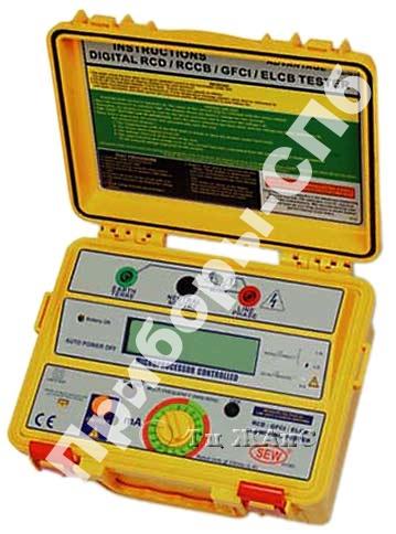 4112 EL - цифровой измеритель параметров устройств защитного отключения