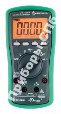DM-200A - цифровой мультиметр