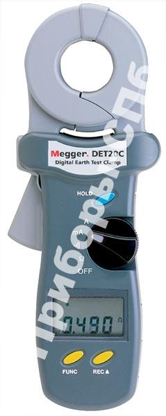 DET20C - бесконтактный измеритель сопротивления заземления