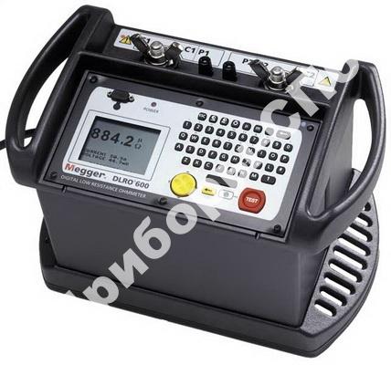 DLRO600 - микроомметр с током тестирования до 600 А