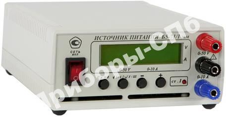Б5-71/1ММ - источник питания 0-50В/0-10А