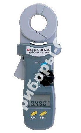 DET10C - бесконтактный измеритель сопротивления заземления