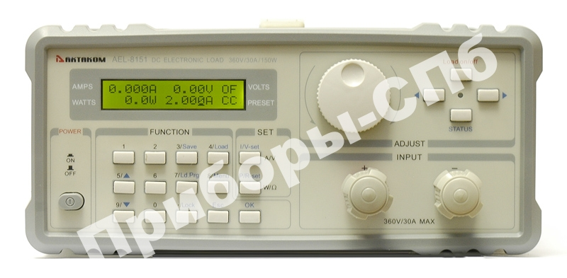 AEL-8151 - электронная программируемая нагрузка