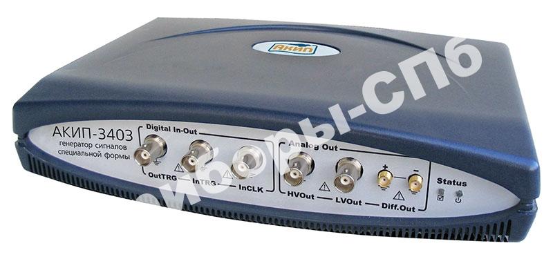 АКИП-3403/1 (4 M) - генератор сигналов специальной формы АКИП