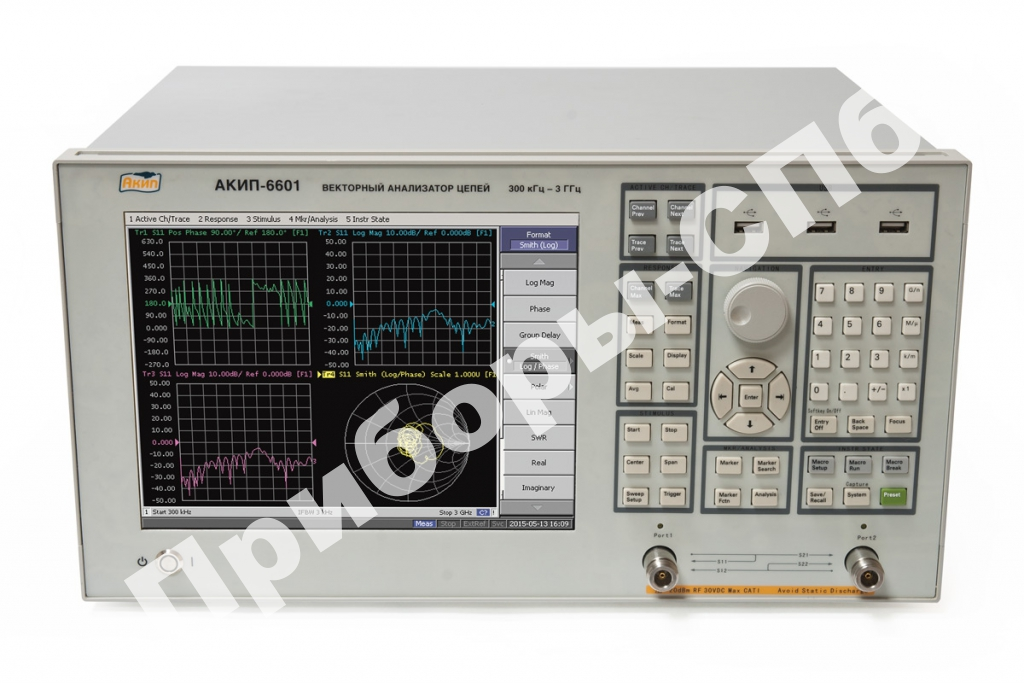 АКИП-6601 (с опцией GPIB)