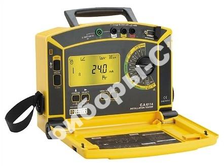 C.A. 6114 - многофункциональный тестер электрических установок