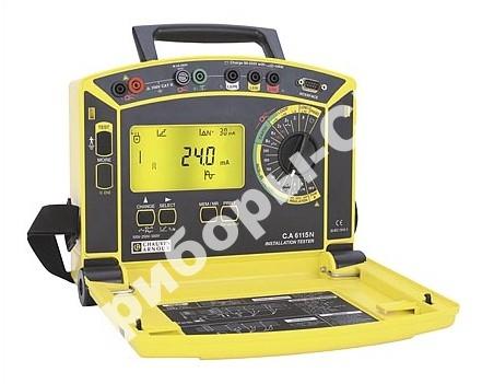 C.A. 6115 N - прибор для комплексной проверки электрических установок + клещи MN21