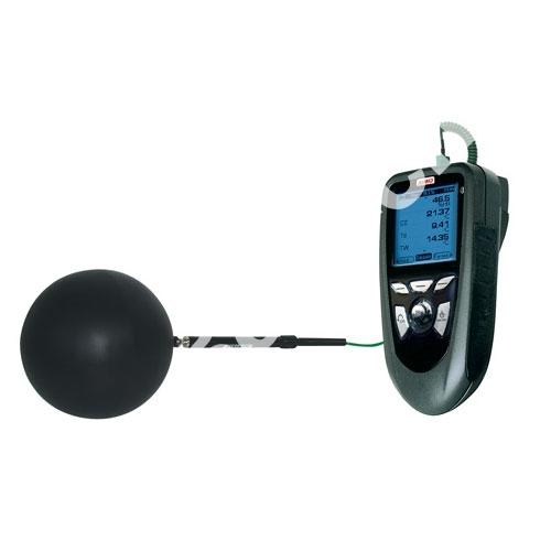 BN 150 - Черный шар для зондов температуры d=150 mm.
