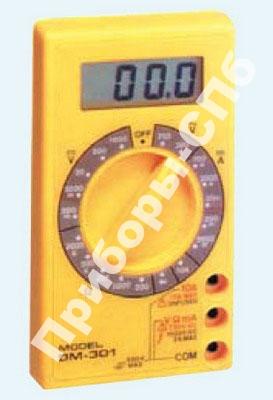 DM-301 - мультиметр профессиональный