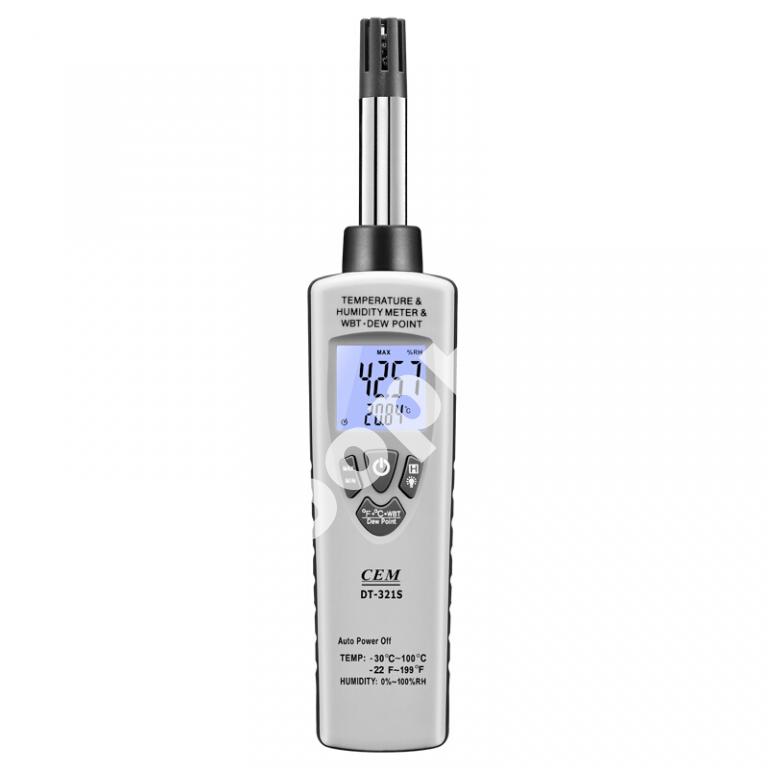 DT-321S - термовлагомер