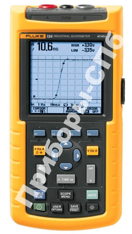 Fluke 124/S - осциллограф-мультиметр + SCC120