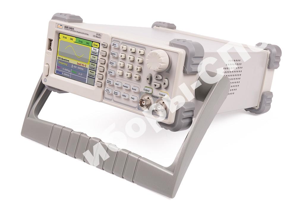 АКИП-3409/5 - генератор сигналов произвольной формы серии АКИП-3409