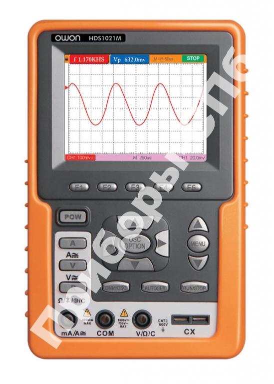 HDS-1021M - осциллограф-мультиметр (скопметр)