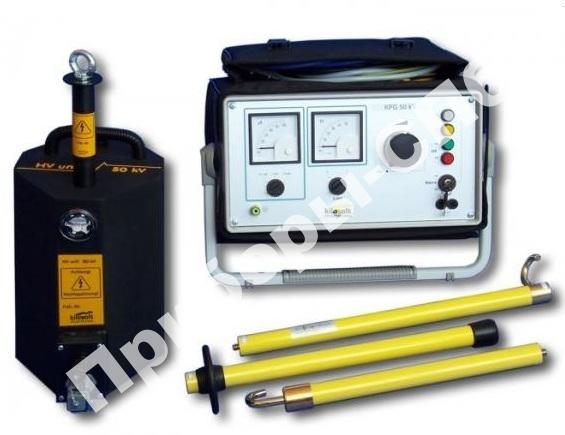 KPG 50kV - Высоковольтная испытательная установка постоянного тока