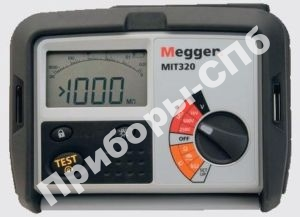 MIT320 - мегаомметр цифровой 250/500/1000 В