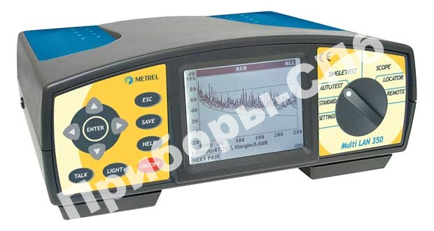 MI 2012 Multi LAN 200 PS - анализатор кабельных сетей (профессиональный комплект)