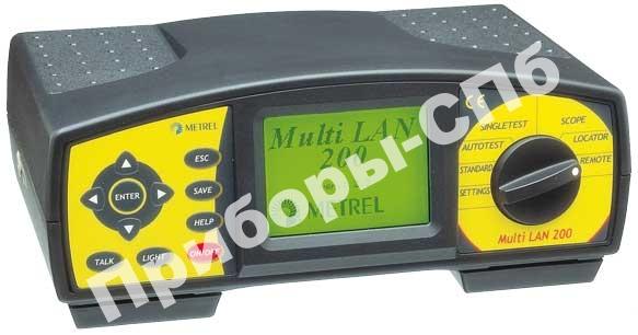 MI 2012 Multi LAN 200 ST - анализатор кабельных сетей (базовая комплектация)