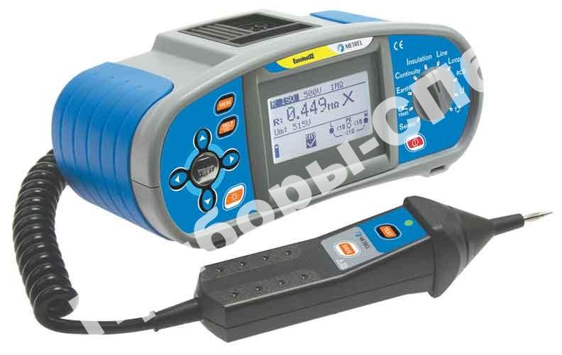 MI 3102 EurotestXE - многофункциональный измеритель параметров электроустановок
