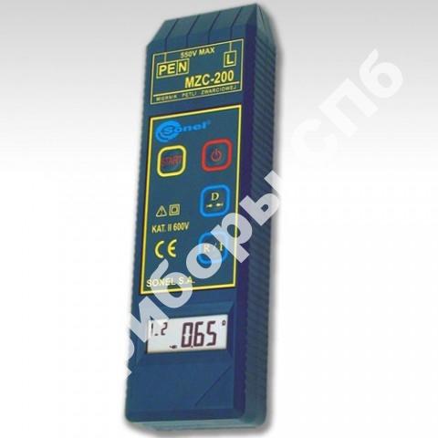 MZC-200 - измеритель параметров цепей фаза-нуль и фаза-фаза электросетей