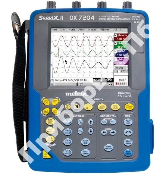 OX7204-CSD - осциллограф индустриальный портативный