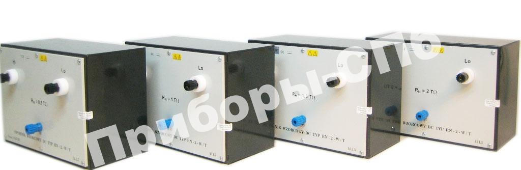 RN-2-W/T 0,5 - меры сопротивлений электроизоляции 0,5 ТОм