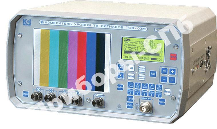 ТСВ-03М-S - измеритель уровня ТВ сигнала