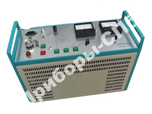 УПЗ-80/5 - установка для испытания оболочек кабеля с изоляцией из сшитого полиэтилена (5кВ)