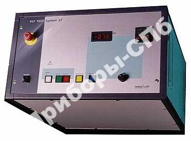 VLF 27 kV - испытательная система для кабелей с ПЭ/ПВХ и бумажно-масляной изоляцией (до 27 кВ)