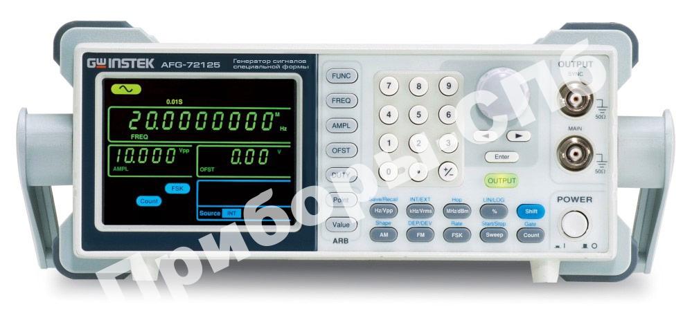 AFG-72005 - Генераторы сигналов специальной формы GW Instek