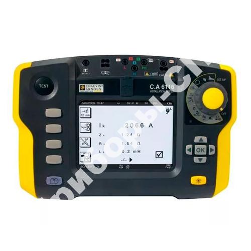 C.A 6116 + клещи С177 - прибор для комплексной проверки электрических установок