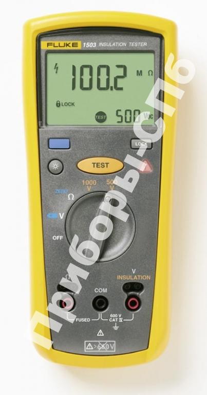 Fluke 1503 - измеритель сопротивления изоляции 500/1000 В