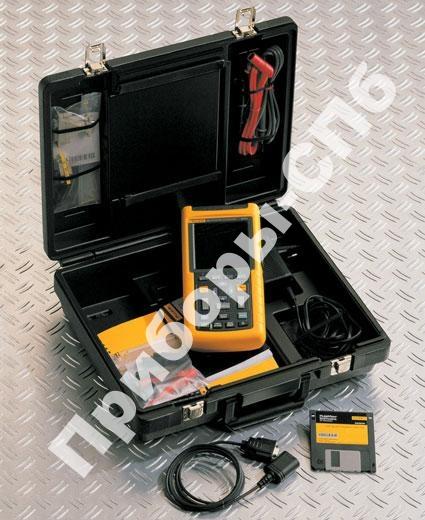 Fluke 123/S - осциллограф-мультиметр + SCC120