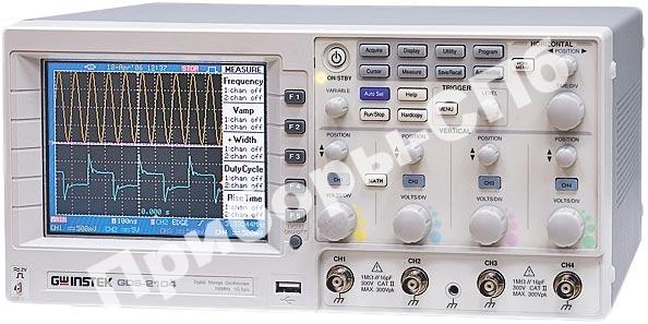GDS-2104 - цифровой осциллограф