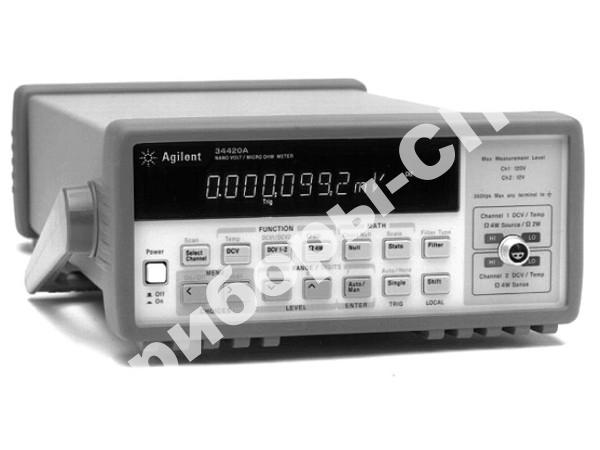 34420A - вольтметр универсальный, нановольт-микроомметр