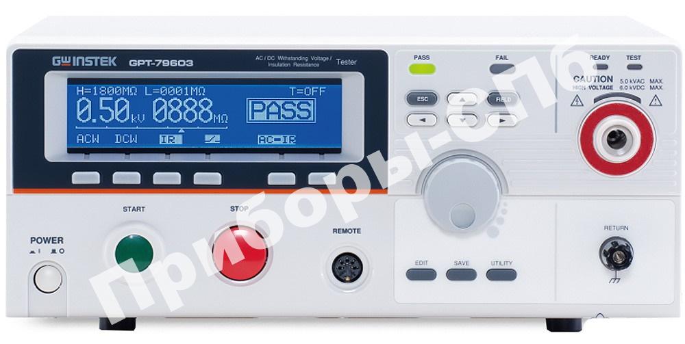 GPT-79612 — измеритель параметров безопасности электрооборудования
