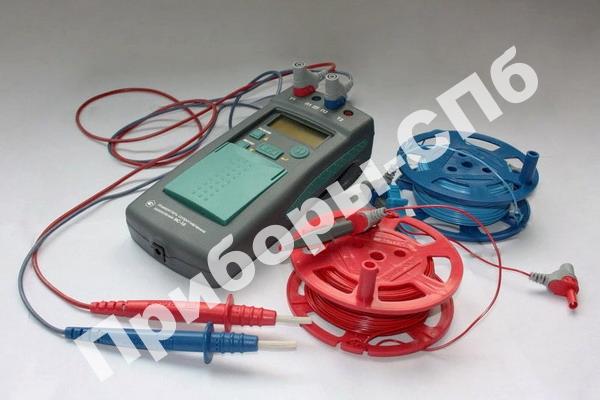 ИС-10 (полная комплектация с клещами и зондами) - измеритель сопротивления заземления