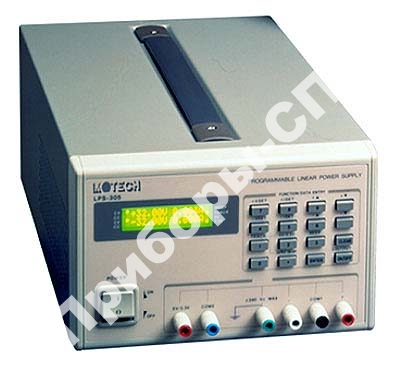 LPS-305 - программируемый линейный двухполярный источник питания