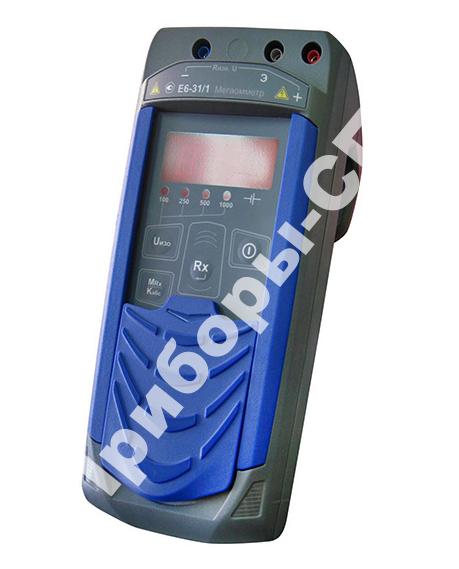 Е6-32 - цифровой мегаомметр