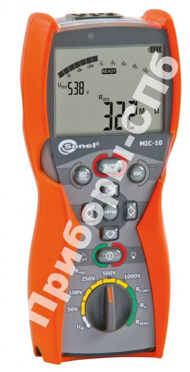 MIC-10 - мегаомметр цифровой 1000 В