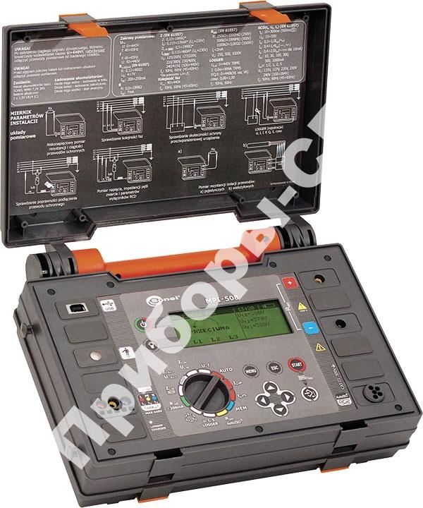 MPI-508 - измеритель параметров электробезопасности электроустановок